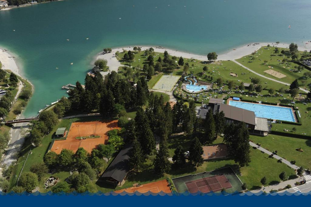 Sport sulla Spiaggia del Lago di Molveno